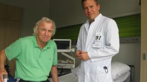 Defibrillator beim Tennisclub Viktoria St. Ingbert rettet Leben
