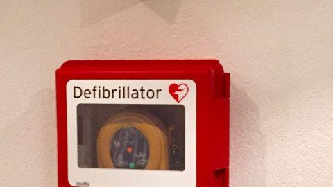 Cardioday in Auersmacher – der Defibrillator ist installiert