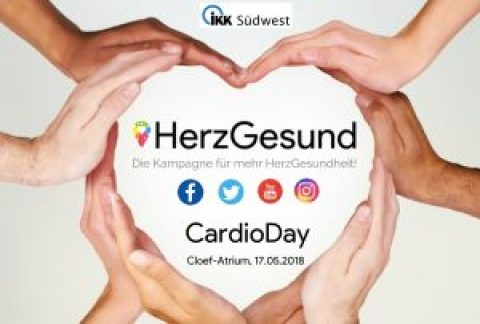 """Cardio-Day"" im Cloef-Atrium am 17.05."