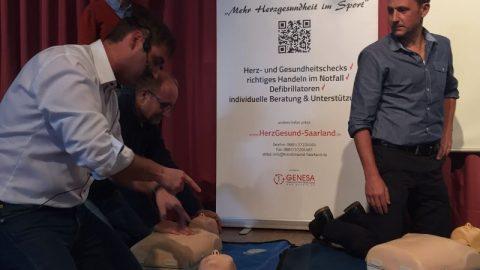 Vorstellung CardioDay beim Christlichen Jugenddorfwerk (CJD) Homburg