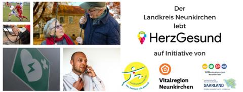 Der Landkreis Neunkirchen lebt HerzGesund!