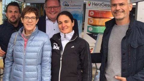 """HerzGesund unterstützt beim Aktionstag """"Homburg lebt gesund"""""""