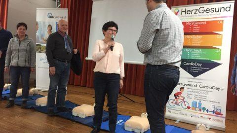 Auftakt-CardioDay in Hüttersdorf beim TLH e.V.